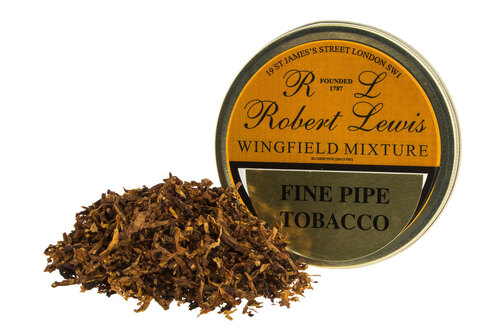 Robert Lewis Wingfield Mixture Pipe Tobacco Tin - 50g