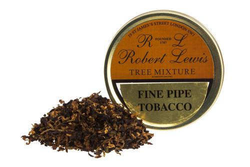 Robert Lewis Tree Mixture Pipe Tobacco Tin - 50g
