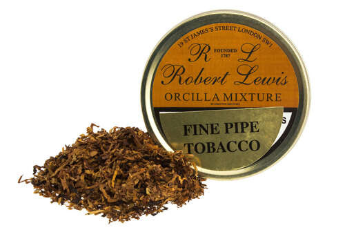 Robert Lewis Orcilla Mixture Pipe Tobacco Tin - 50g
