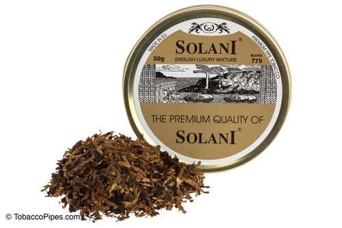 Solani Golden Label Blend No. 779 Pipe Tobacco Tin - 50g