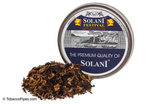 Solani Festival Blend No. 333 Pipe Tobacco Tins