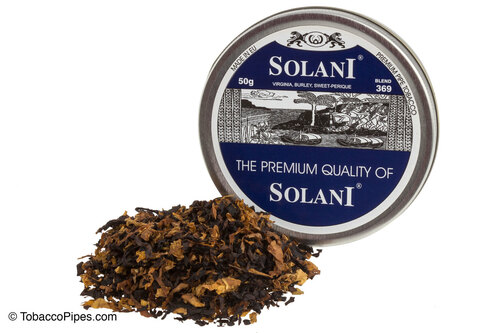 Solani Blue Label Blend No. 369 Pipe Tobacco Tins