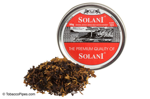 Solani Red Label Blend No. 131 Pipe Tobacco Tins