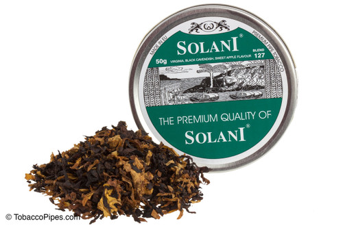 Solani Green Label Blend No. 127 Pipe Tobacco Tins