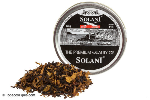 Solani Sweet Mystery Blend No. 113 Pipe Tobacco Tins