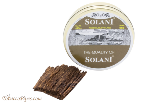 Solani Aged Burley Flake Blend No. 656 Pipe Tobacco