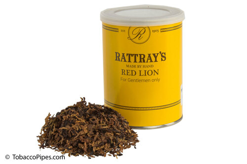 Rattray's Red Lion Pipe Tobacco Tin - 100g