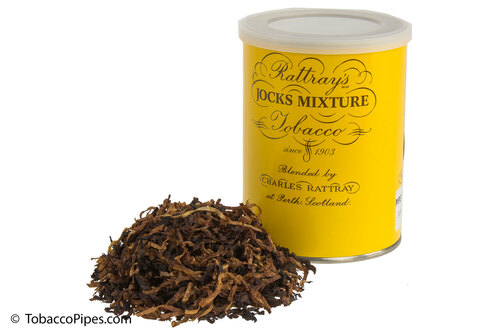Rattray's Jocks Mixture Pipe Tobacco Tin - 100g