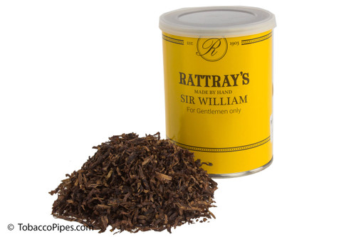 Rattray's Sir William Pipe Tobacco Tin - 100g