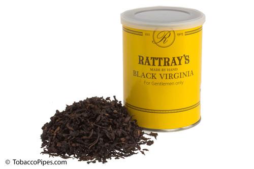 Rattray's Black Virginia Pipe Tobacco Tin - 100g