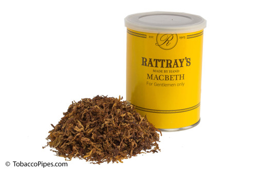 Rattray's Macbeth Pipe Tobacco Tin - 100g
