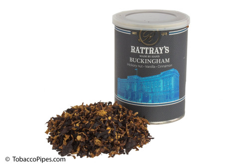 Rattray's Buckingham Pipe Tobacco Tin - 100g