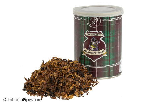 Rattray's Bagpiper's Dream Pipe Tobacco Tin - 100g