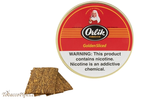 Orlik Golden Sliced Pipe Tobacco Tins Tobacco