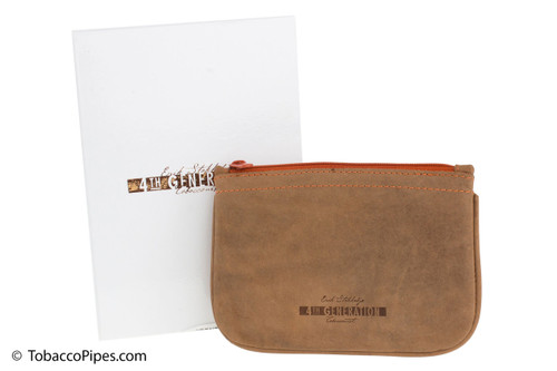 4th Generation Zipper Tobacco Pouch - Hunter Brown