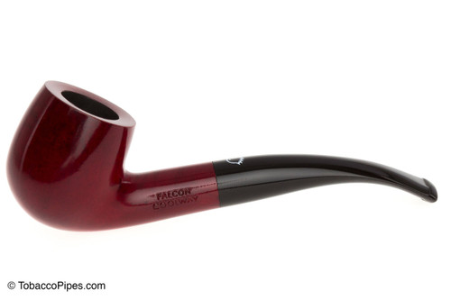 Falcon Coolway Red 22 Tobacco Pipe Left Side