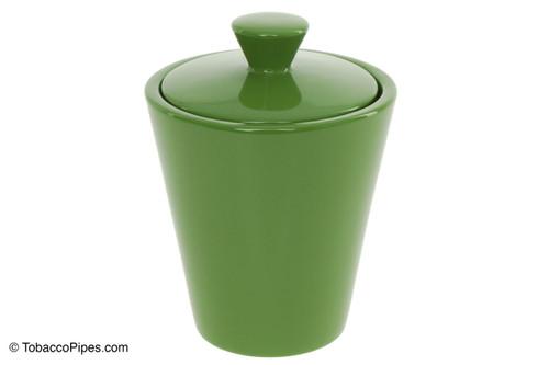 Savinelli Lime Green Ceramic Tobacco Jar