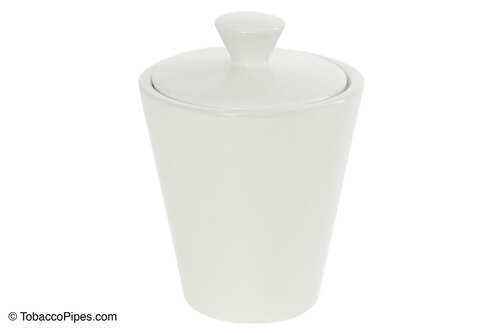 Savinelli White Ceramic Tobacco Jar