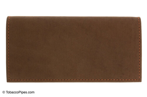 4th Generation Roll Up Tobacco Pouch - Hunter Brown Front