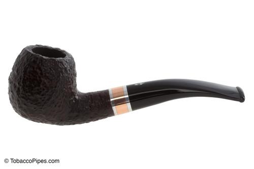 Savinelli Marte 626 Tobacco Pipe - Rustic Left Side