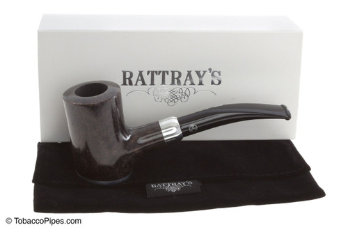 Rattray's Glory Day Tobacco Pipe - Grey