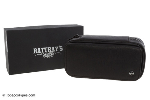 Rattray's 2 Pipe Leather Bag