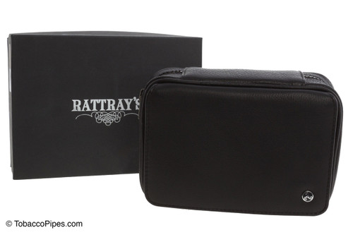 Rattray's 3 Pipe Leather Bag