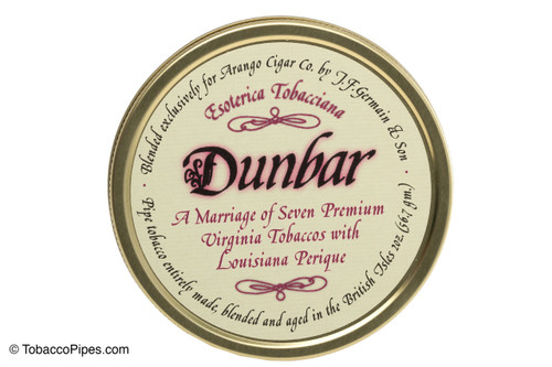 Esoterica Dunbar Pipe Tobacco - 2 oz Front