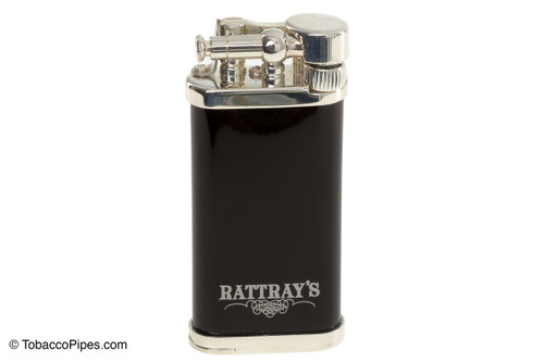 Rattray's Old Boy Pipe Lighter - Black Front