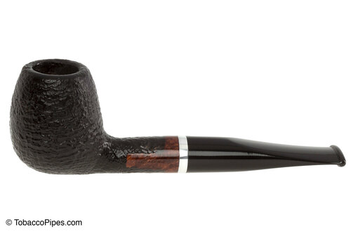 Molina Barasso Sandblast 110 Tobacco Pipe Left Side
