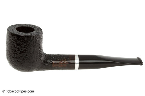Molina Barasso Sandblast 111 Tobacco Pipe Left Side