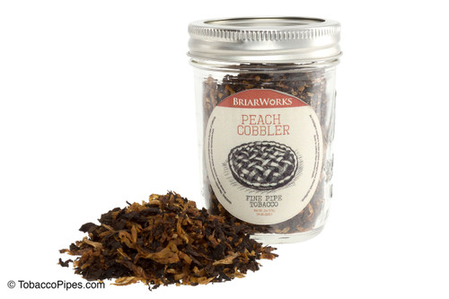 BriarWorks Peach Cobbler Tobacco Pipe Jar - 2 oz