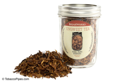 BriarWorks Unsweet Tea Tobacco Pipe Jar - 2 oz