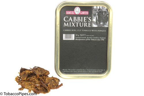 Samuel Gawith Cabbie's Mixture Pipe Tobacco Tin - 50g