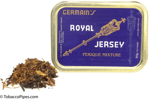 Germain Royal Jersey Perique Mixture Pipe Tobacco - 1.75 oz Cut