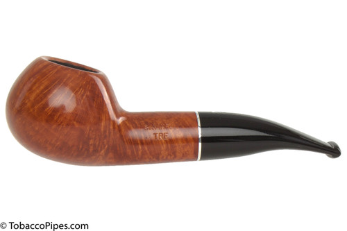 Savinelli Tre 321 Tobacco Pipe - Smooth Left Side