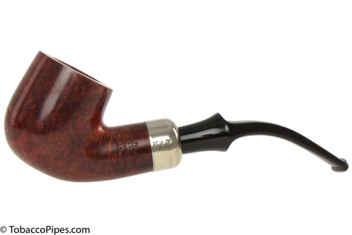 Peterson Standard Smooth 301 Tobacco Pipe Fishtail Left Side