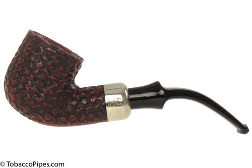 Peterson Standard Rustic 301 Tobacco Pipe Fishtail Left Side