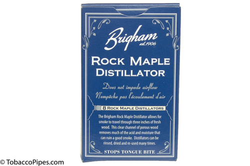 Brigham Rock Maple Distillator Pipe Filters Single Pack