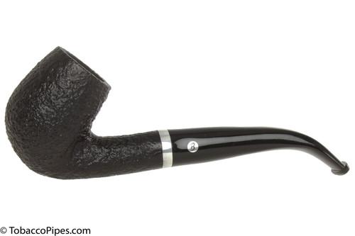 Brigham Chinook 23 Tobacco Pipe - Bent Billiard Sandblast