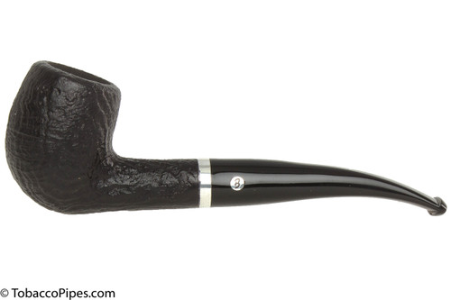 Brigham Chinook 65 Tobacco Pipe - Bent Egg Sandblast
