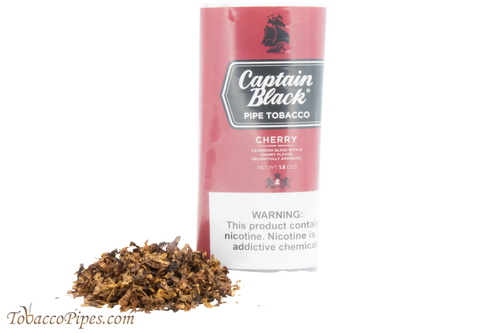 Captain Black Cherry Pipe Tobacco - 40g Pouch