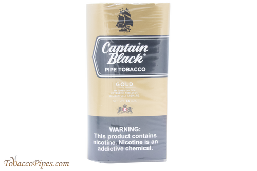 Captain Black Gold Pipe Tobacco - 40g Pouch Front