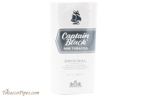 Captain Black Original Pipe Tobacco - 40g Pouch Front