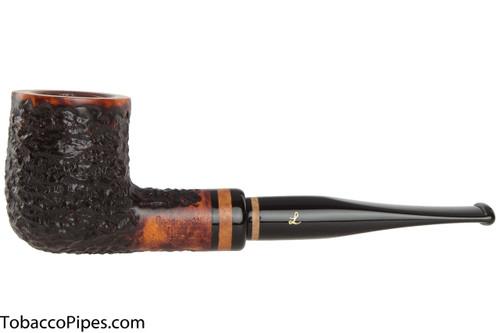 Lorenzetti Nero 03 Tobacco Pipe - Billiard Rustic