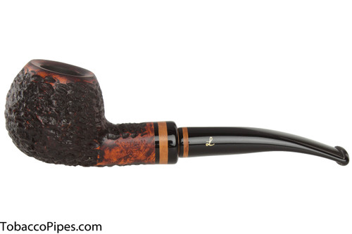Lorenzetti Nero 29 Tobacco Pipe - Bent Apple Rustic