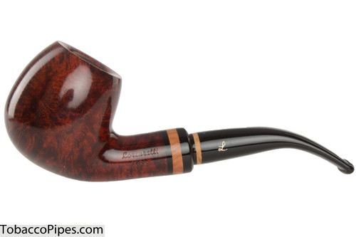 Lorenzetti Caesar 23 Tobacco Pipe - Bent Apple Smooth