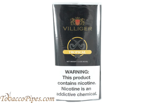 Villiger Tropical Export Pipe Tobacco Pouches Front