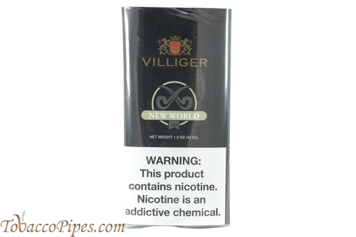 Villiger New World Export Pipe Tobacco Pouches Front