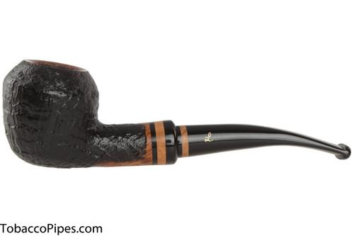 Lorenzetti Titus 37 Tobacco Pipe - Rhodesian Sandblast
